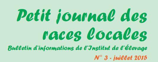 Le petit journal des races locales – n°3