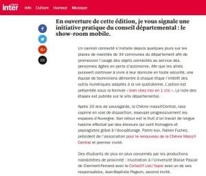 Carnets de campagne France Inter