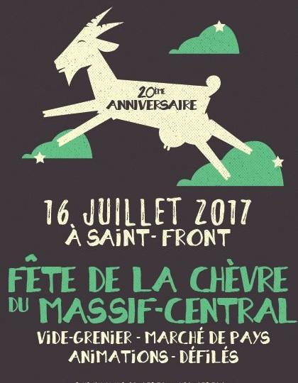 Fête de la chèvre Massif-Central 2017 – 20ème anniversaire